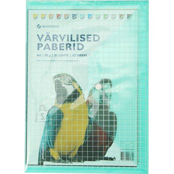 SULEMEES Värviline paber trukiga kotis (35 lehte, 13 värvi)