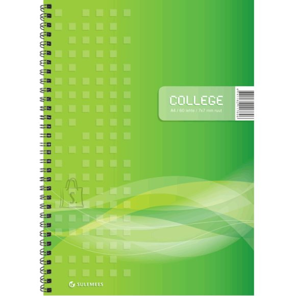 SULEMEES College A4, 60 lehte, 7x7 ruut