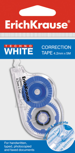 ErichKrause Korrektuurlint TECHNO WHITE MINI, 4,2mm*5m