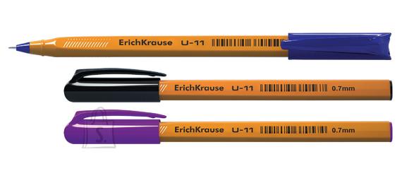 ErichKrause Pastapliiats ULTRA GLIDE U-11 YELLOW, 3tk blistris(sinine,must,lilla)