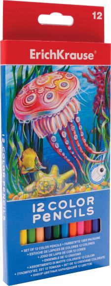 ErichKrause Värvipliiatsid 12 värvi