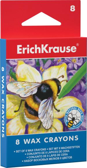 ErichKrause Vahakriidid  8 värvi, karongkarbis