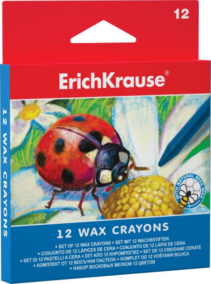 ErichKrause Vahakriidid  12 värvi, kartongkarbis