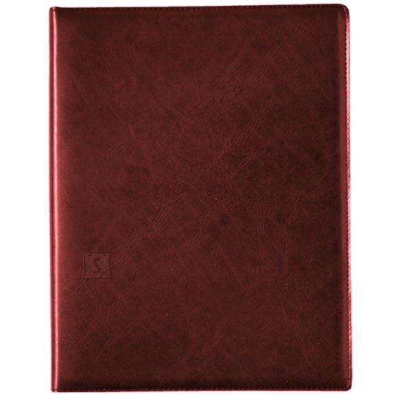 SULEMEES Raamatkalender A4 NÄDAL vertikaaljaotus , spiraalköide, kunstnahkaas