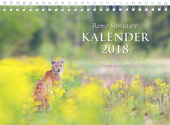 SULEMEES Remo Savisaare kalender (linnud, loomad)