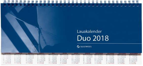SULEMEES Lauakalender DUO 2018