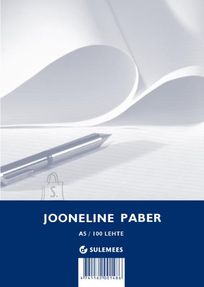 SULEMEES Tarbepaber A5, jooneline, pakis 100 lehte