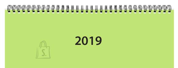 SULEMEES Lauakalender 2019a Classic, õhuke plastkaas