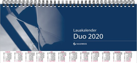 SULEMEES Lauakalender DUO 2020a