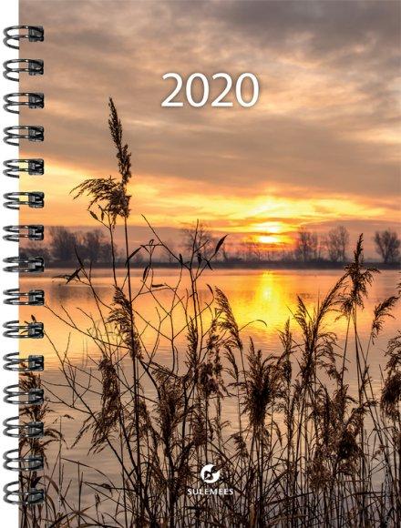 SULEMEES Kalender A5 PÄEV 2020a, spiraalköites SISU