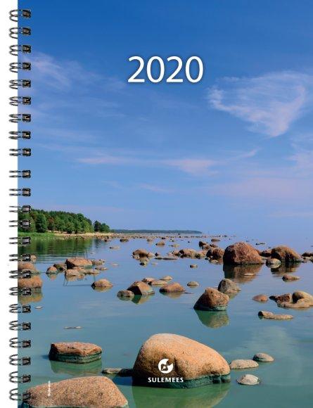 SULEMEES Kalender nädal A5 UNIVERSAAL 2020a, spiraalköide, SISU