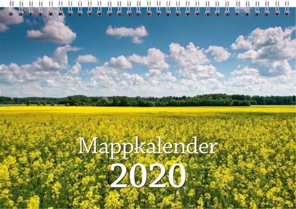 SULEMEES Mappkalender, taskutega pildikalender 2020a