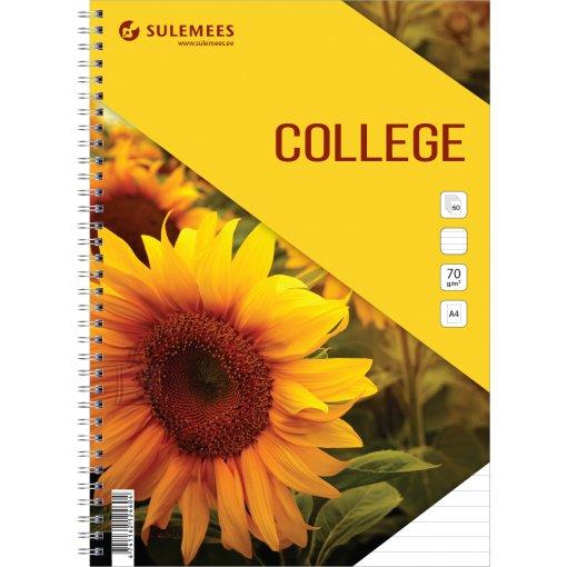 SULEMEES College A4, 60 lehte, jooneline