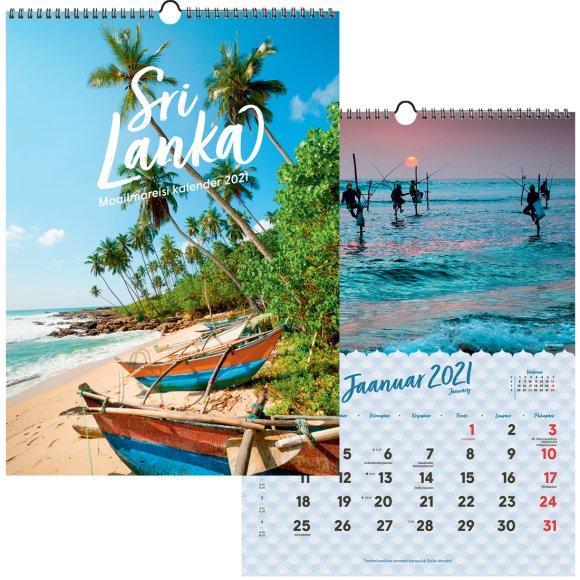 SULEMEES Reisikalender Sri Lanka 2021