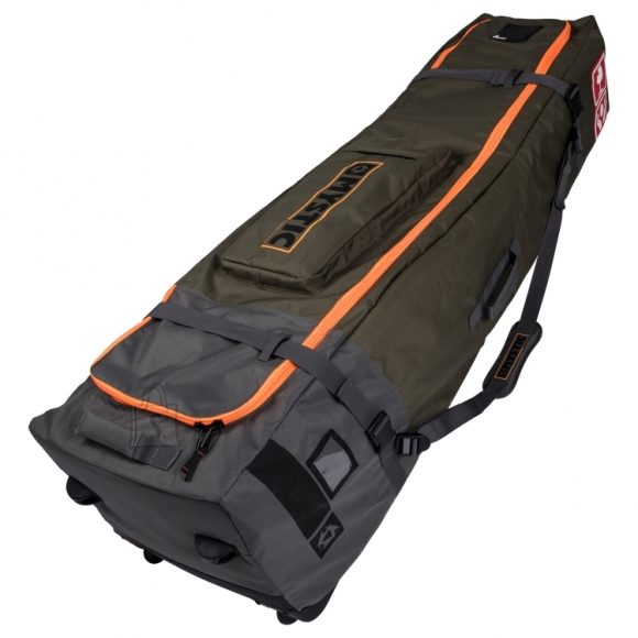 Mystic Golf Bag Pro golfikott ratastega Army