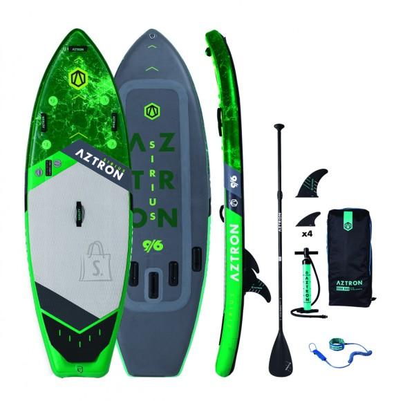 """2019 Aztron SIRIUS SURF 9'6"""" iSUP aerusurfi laud (komplekt)"""