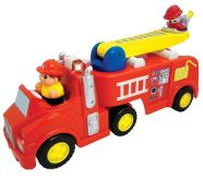 Kiddieland interaktiivne tuletõrjeauto