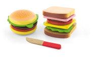 mängutoidu komplekt hamburger