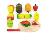 mängutoidu komplekt puuviljad