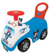 Kiddieland Pealeistutav auto Mickey Police