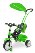 Milly Mally 3-rattaline lapsekäru Boby Deluxe - värviline