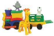 Kiddieland Mängurong koos loomadega