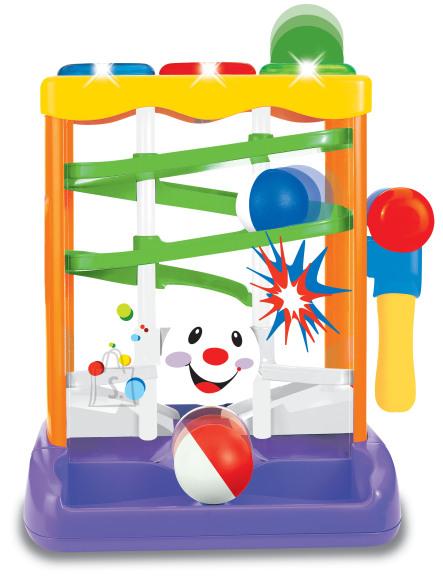 Kiddieland värviline haamriga mänguasjakomplekt