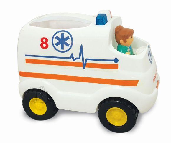 Kiddieland kiirabiauto lisadega
