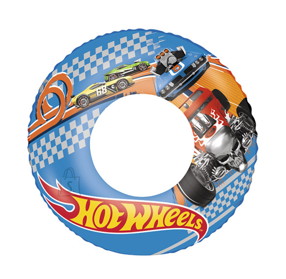 Bestway Ujumisrõngas Hot Wheels