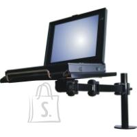 NewStar notebook desk mount, clamp, universal, black