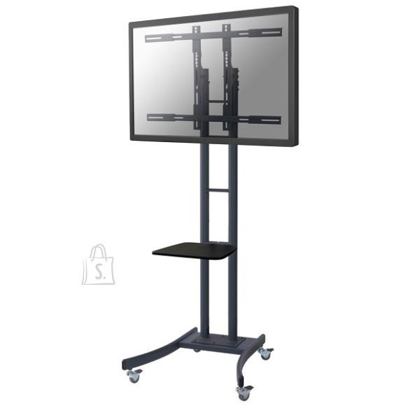 """NewStar LCD/Plasma floor stand, 32-70"""", mobile, h: 185 cm, black"""
