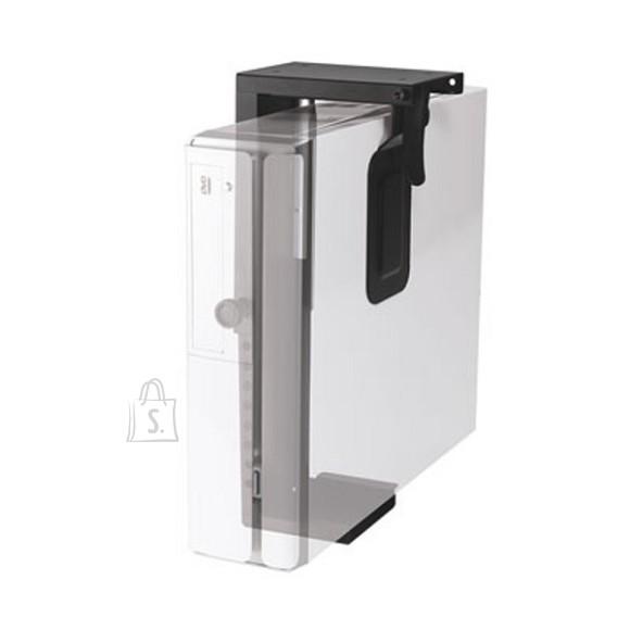 NewStar CPU holder, desk mount, h: 20-36 cm/w: 5-10 cm, black