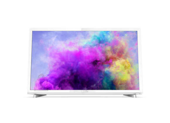 "Philips Philips LED TV 22"" 24PFS5603/12 FHD 1920x1080p PPI-200Hz 2xHDMI/VGA USB(AVI/MKV) DVB-T/T2/T2-HD/C/S/S2, 6W, C:White"