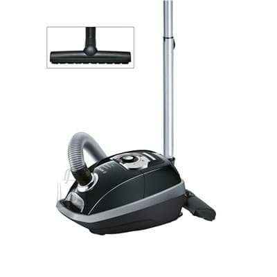 Bosch BOSCH Vacuum cleaner BGL85S330 Ingenie ProSilence 57, Bagged, Black color, 650 W, 59 dB, HEPA filtration system