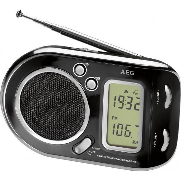 AEG raadio must