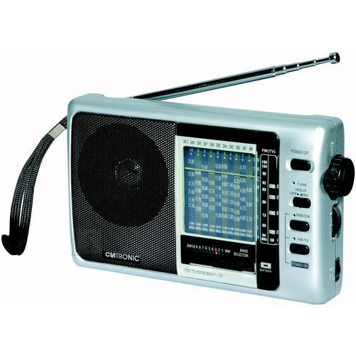 Clatronic raadio hõbedane