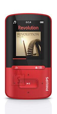 Philips MP4-mängija Vibe 4GB punane