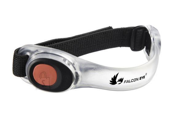 Falcon Eye LED velcro käepael STRAPO, punane valgus, 2 x CR2032, 2 red LED, 6h