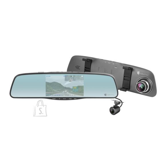 """Navitel Navitel MR250 tahavaatepeegel autokaamera FHD, tagumine kaamera, 5"""" ekraan"""
