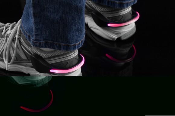 Mace LED ohutustuled jalanõudele (Roosad)