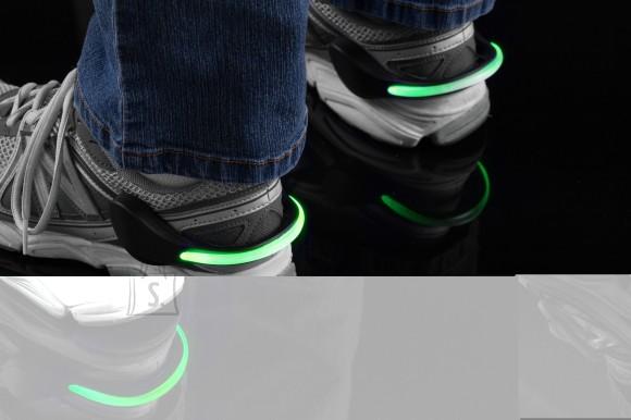Mace LED ohutustuled jalanõudele (Rohelised)