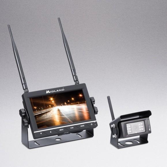 Midland Midland TRUCK GUARDIAN WIRELESS - juhtmevaba kaamera ja monitori süsteem rekkale