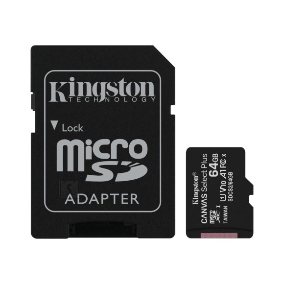 Kingston Kingston MicroSDXC Canvas Plus 64GB
