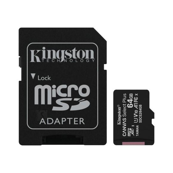 Kingston Kingston MicroSDXC Canvas Plus 64GB