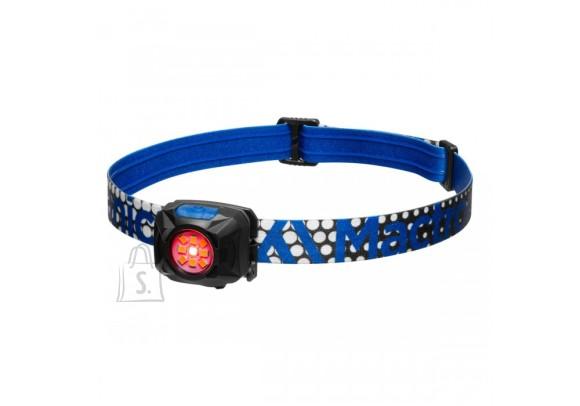 Mactronic REBEL kerge pealamp külma ja sooja valgusega, 400lm, LiIon aku 600mAh, microUSB kaabel, sinine