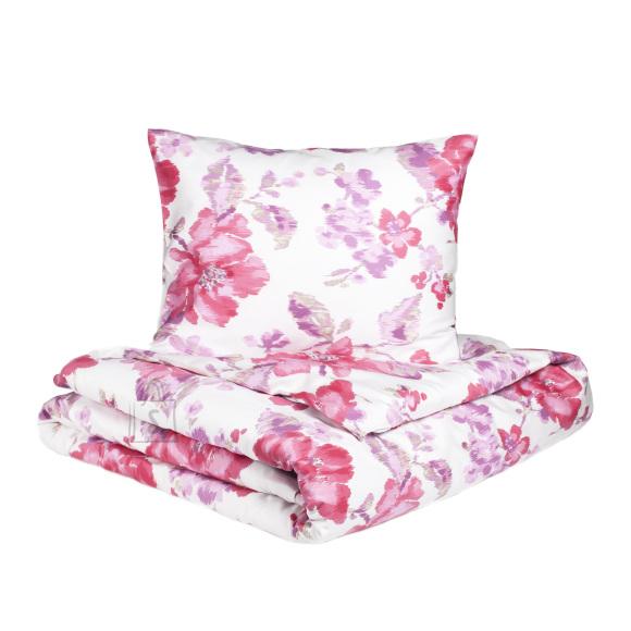 Tekstiilikompanii Satään voodipesukomplekt Flowers 220x210 cm + 2 padjapüüri 50x60 cm