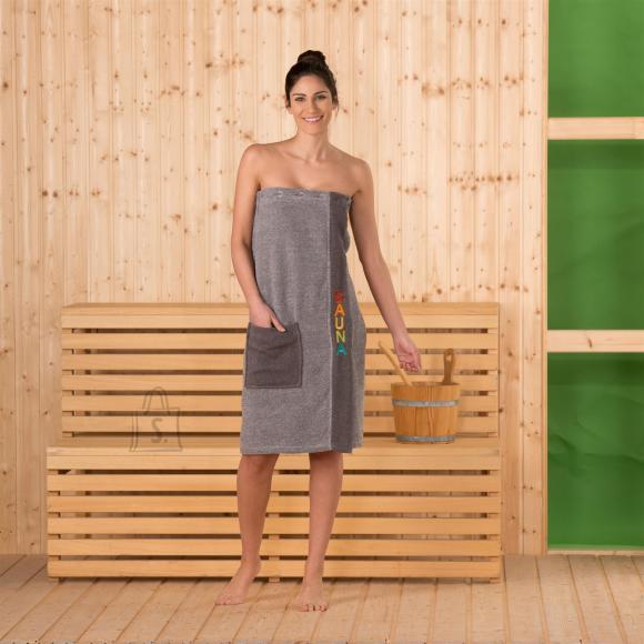Tekstiilikompanii Saunaseelik naistele pruun 80x136 cm