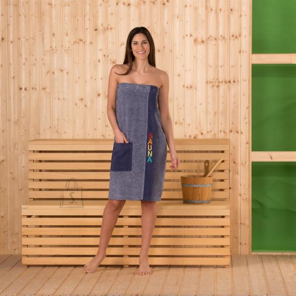 Tekstiilikompanii Saunaseelik naistele sinine 80x136 cm