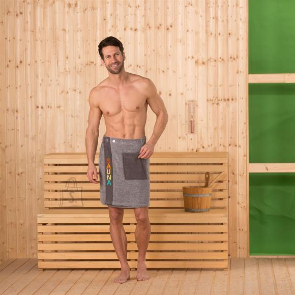 Tekstiilikompanii Saunaseelik meestele pruun 50x136 cm