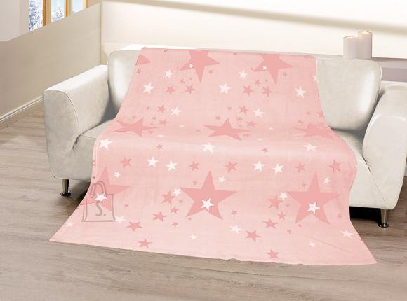Tekstiilikompanii Pleed 150x200 cm, STARS vanaroosa
